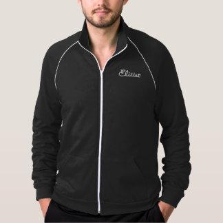 Men's Elitist Track Jacket (white/black)