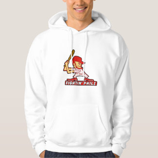 Mens Fightin Phils Hooded Sweatshirt