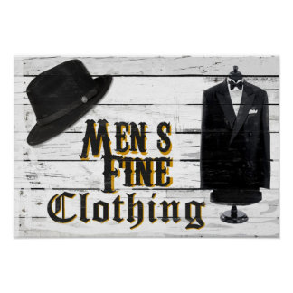 Men's Fine Clothing II Poster