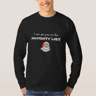 Men's Funny Christmas Long Sleeve Tshirt