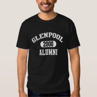Men's Glenpool High School Alumni Class of 2000 T-shirts