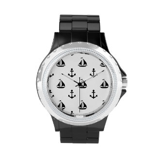 Men's Nautical Theme Watch