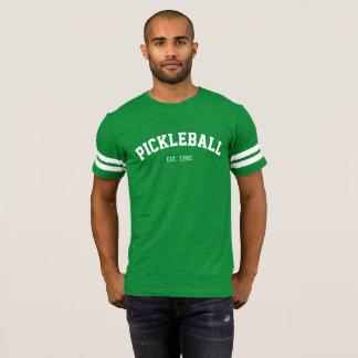 Men's PICKLEBALL Athletic Jersey (Green) T-Shirt