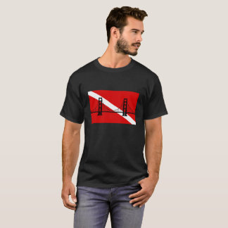 Men's San Francisco Scuba Group logo tshirt