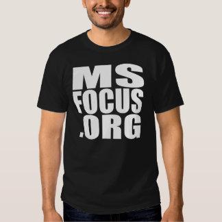 Men's short-sleeved msfocus.org tee