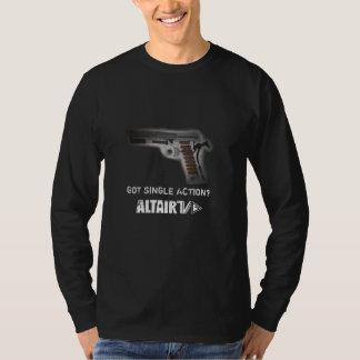 Men's Single Action Long Sleeve T-Shirt