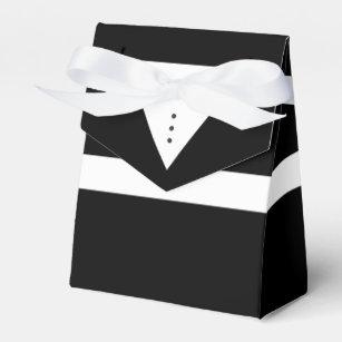 Mens Tux Groom Or Groomsmen Tuxedo Favour Box