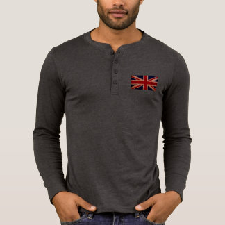 Men's Union Jack Henley T-Shirt