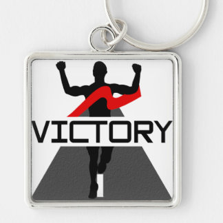 Mens Victory Runner Keychain