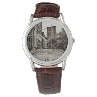 Men's Vintage Brooklyn Bridge Watch
