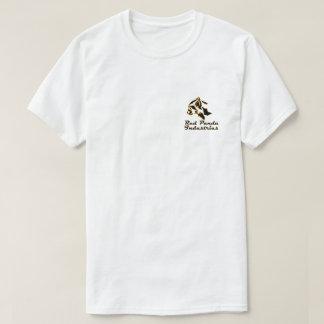Mens White Green Energy Red Panda T-Shirt