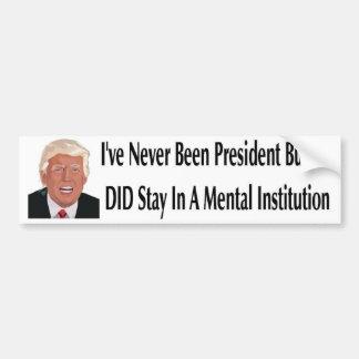 Mental Bumper Sticker