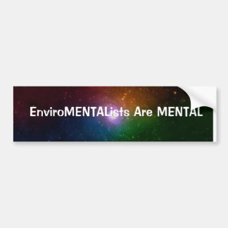 Mental Disorder Bumper Sticker