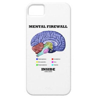 Mental Firewall Inside (Anatomical Brain) iPhone 5 Case