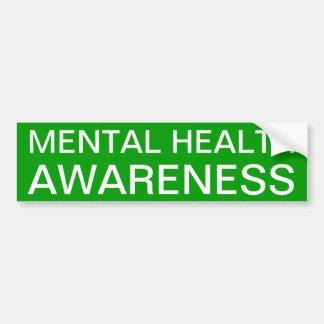 Mental Health Awareness Bumper Sticker
