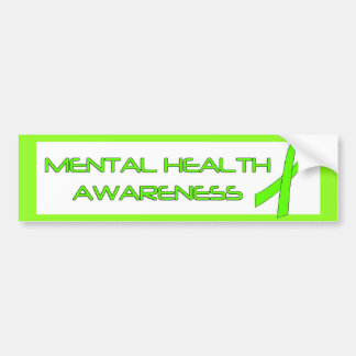 Mental Health Awareness Bumper Stickers