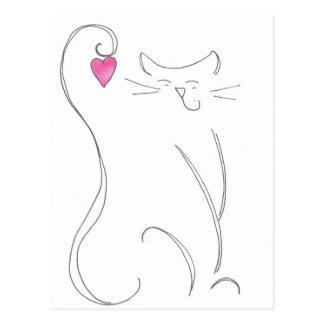 Meow! Postcard