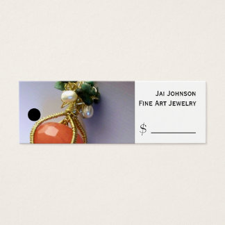 Merchandise Price Tags (Jewelry) Mini Business Card