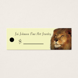 Merchandise Price Tags (Lion)
