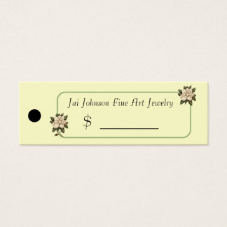 Merchandise Price Tags (Magnolia Flowers)