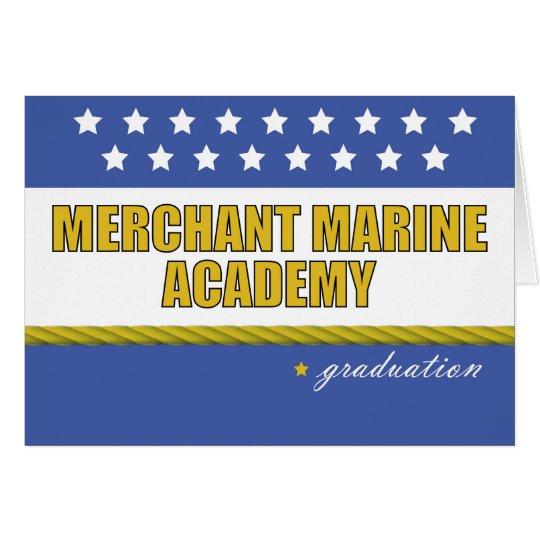 Merchant Marine Academy Graduation Congratulations Card