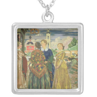 Merchant Women Silver Plated Necklace