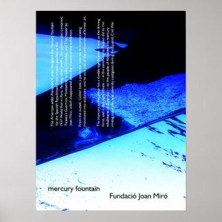 mercury fountain print