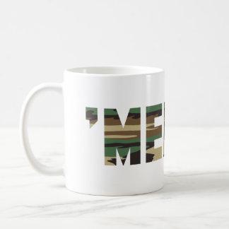 'MERICA Camo Font Coffee Mug