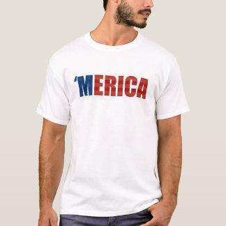 'MERICA t-shirt - Stars and Stripes