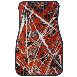 MERIDIAN (an abstract art design) ~ Car Mat