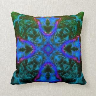 Merlin Seaweed Cross Pillow