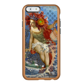 Mermaid Aquarius Vintage Whimsical Gothic Funny Incipio Feather® Shine iPhone 6 Case