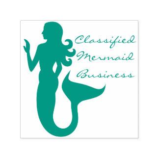 Mermaid Business Sea Girl Self-inking Stamp