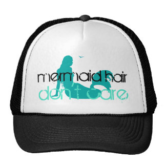 Mermaid Hair Don't Care | Tropical Beach Vacation Cap