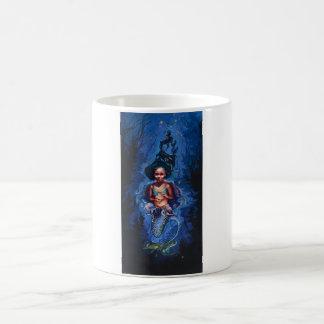 Mermaid in a Jellyfish skirt, classic mug