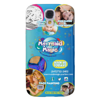 Mermaid Magic Billboard Galaxy S4 Case