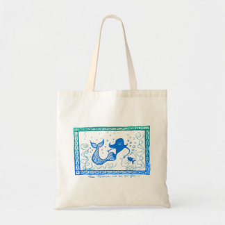 Mermaid Miss Minerva Budget Tote