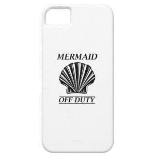 Mermaid Off Duty Barely There iPhone 5 Case