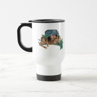 Mermaid Reflections Plastic Travel Mug