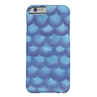 Mermaid Scales Watercolor Barely There iPhone 6 Case
