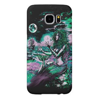Mermaid Sea Pearl Samsung Galaxy S6 Cases
