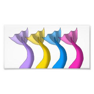 Mermaid Tails 1 Photo Print