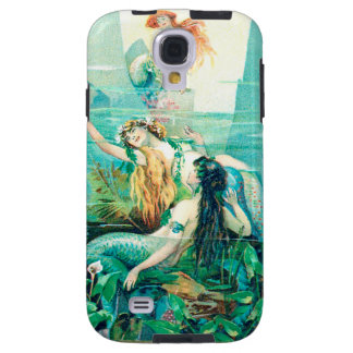 Mermaids on Cellphone Case for Galaxy S4