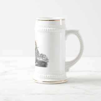 Merriman family arms beer stein