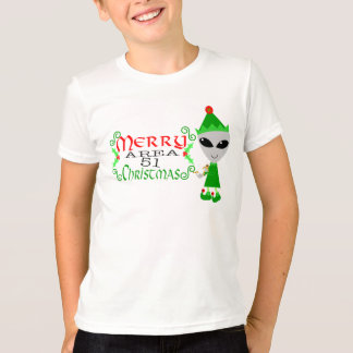 Merry Area 51 Christmas Shirt
