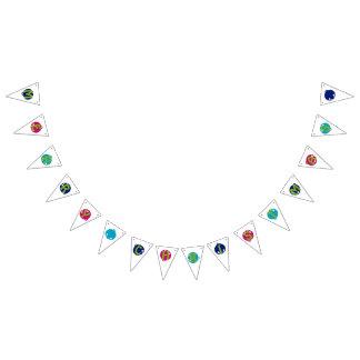 Merry & bright Christmas jingle bells banner