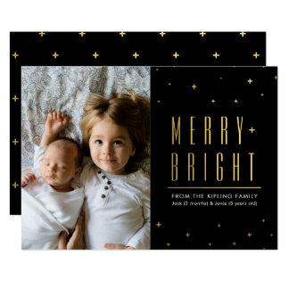 Merry & Bright Holiday Photo Card