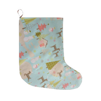 merry christmas and happy new year large christmas stocking