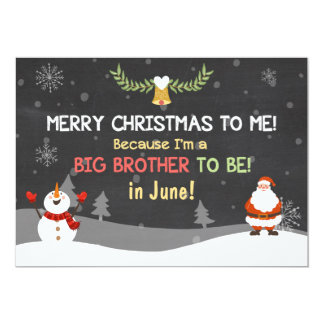 Merry Christmas Big Brother pregnancy announcement
