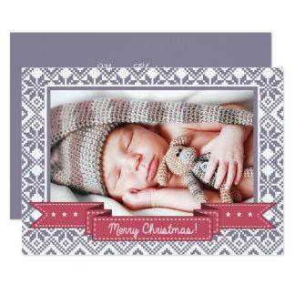 Merry Christmas. Custom Christmas Photo Cards